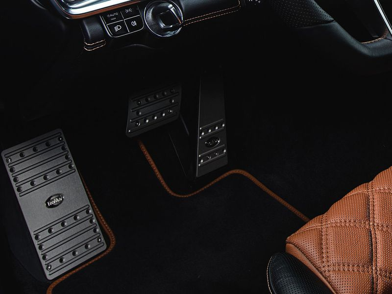 Techart накладки на педали Porsche Panamera 971 » 071.460.401.009