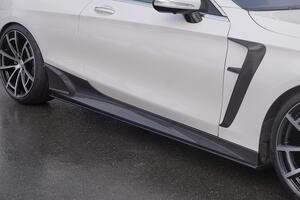 Пороги Mansory для Mercedes S63 Coupe