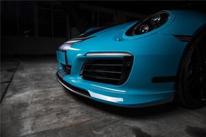 Спойлер переднего бампера Techart для Porsche 991