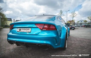Задние расширители Prior Design для Audi A7 RS7