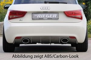 Накладка заднего бампера Rieger для Audi A1 8X