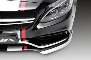 Нижние элероны Piecha для Mercedes C63 AMG W205