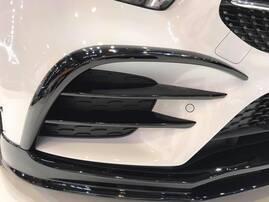 Накладки воздуховодов переднего бампера Lorinser для Mercedes W177