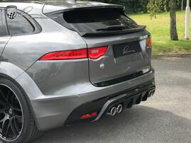 Спойлер Lumma для Jaguar F-Pace