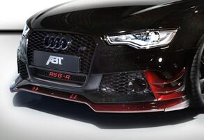Сплиттер бампера ABT для Audi RS6 4G