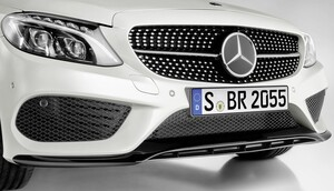 Накладка переднего бампера для Mercedes C-Class W205
