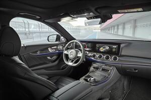 Отделка карбоном салона для Mercedes E W213