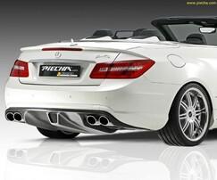 Диффузор Piecha Design для Mercedes E-Class Cabrio A207