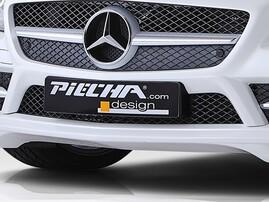 Накладка бампера Piecha Design Mercedes SLK
