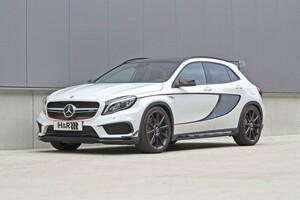 Пружины с занижением H&R для Mercedes GLA45 AMG