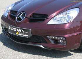 Юбка переднего бампера Piecha Design для Mercedes SLK R171 до 04/08