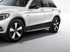 Пороги для Mercedes GLC