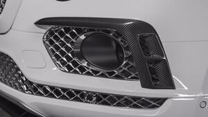 Карбоновые накладки на бампер для Bentley Bentayga