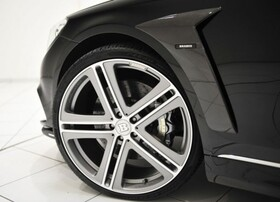 Карбоновые накладки на крылья Brabus для Mercedes W222/V222