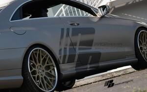 Пороги Prior Design для Mercedes E-Class Coupe C207