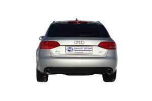 Глушители FOX для Audi A4 B8 2.0 TFSI