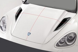 Капот Hofele для Porsche Cayenne 958