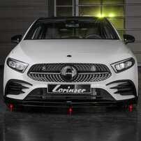 Накладка переднего бампера Lorinser для Mercedes W177