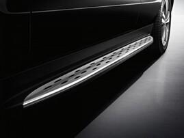 Оригинальные пороги для Mercedes ML W166