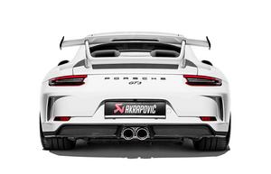 Глушитель Akrapovic для Porsche 991.2 GT3