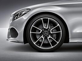 19'' Литой диск AMG для Mercedes C-Class W205