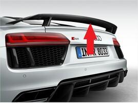 Карбоновый спойлер для Audi R8