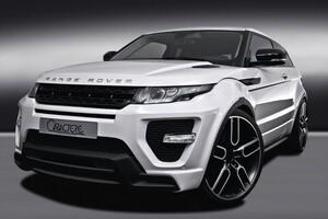 Передний бампер Caractere для Range Rover Evoque