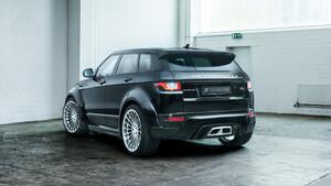 Задний бампер Hamann для Range Rover Evoque