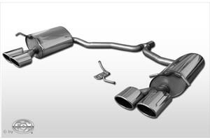 Глушители FOX для Mercedes E200 E250 C207