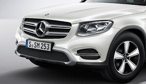 Накладка переднего бампера для Mercedes GLC C253
