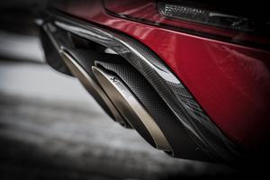 Глушитель Akrapovic для Porsche Macan GTS / Turbo