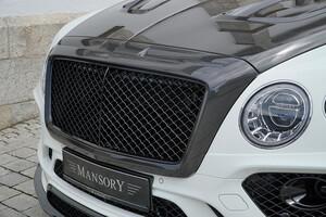Карбоновая решетка радиатора Mansory для Bentley Bentayga