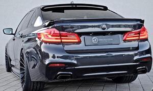Накладка заднего бампера Hamann для BMW G30 5-серия