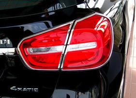 Хромированные накладки на фонари Schatz для Mercedes GLA X156