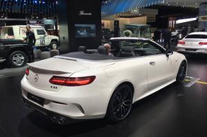 Спойлер E53 AMG для Mercedes E Cabrio A238