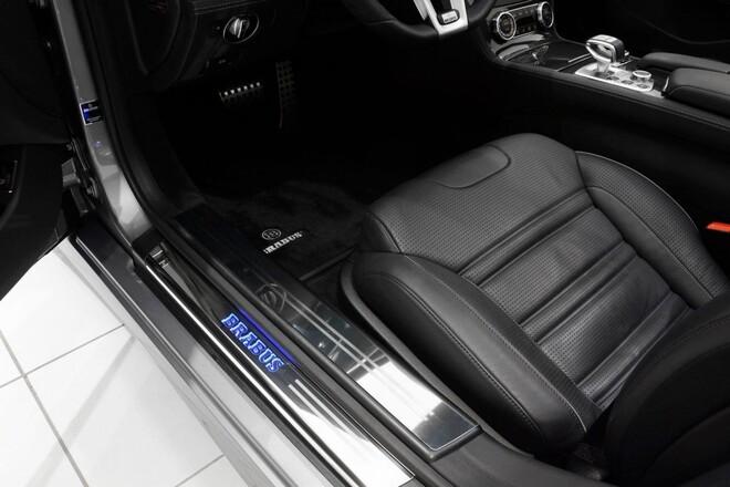 Велюровые коврики Brabus для Mercedes SL R231