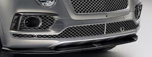 Карбоновый сплитер переднего бампера для Bentley Bentayga
