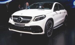 Обвес GLE63 S AMG для Mercedes GLE Coupe