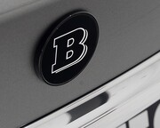 Эмблема на багажник Brabus для Mercedes GLE