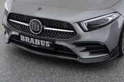 Накладки переднего бампера Brabus для Mercedes A-Class W177