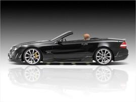 Пороги Avalange RS Piecha Design для Mercedes SL R230