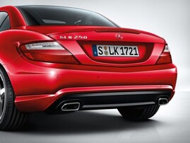 Задний бампер AMG для Mercedes SLK R172
