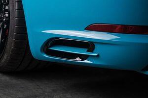 Вставки в воздуховоды Techart для заднего бампера Porsche 991