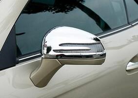 Хромированные накладки на зеркала Schatz для Mercedes SL SLK