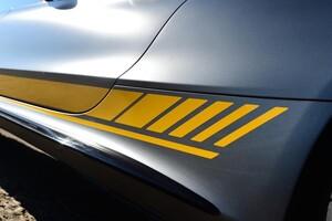 Боковые наклейки Edition 1 для Mercedes C-Class Coupe C205