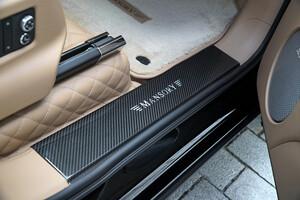 Карбоновые накладки на пороги Mansory для Bentley Bentayga