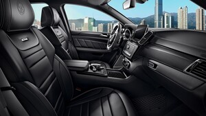 Карбоновые вставки салона для Mercedes GLE W166
