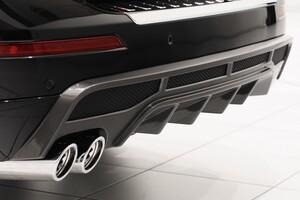 Диффузор заднего бампера Brabus для Mercedes GL X166