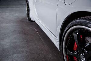 Боковые пороги Techart для Porsche 991