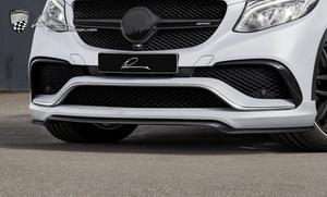 Накладка переднего бампера Lumma для Mercedes GLE Coupe